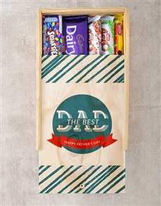 gifts: Best Dad Chocolate Tray!