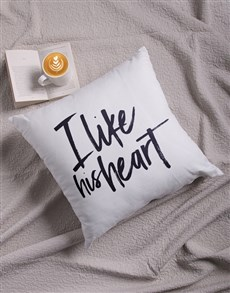 gifts: I Like His Scatter Cushion!