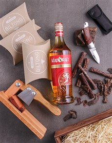 gifts: Brandy and Biltong Crate!