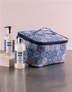 gifts: Large Blue Marakesh Vanity!