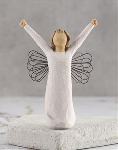 gifts: Angel of Courage Willow Tree Figurine!