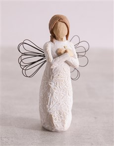 gifts: Angel of Remembrance Willow Tree Figurine!