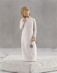 gifts: Remember Willow Tree Figurine!