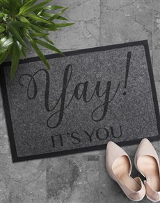 gifts: Yay Its You Doormat!