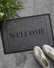 gifts: Warm Welcome Doormat!