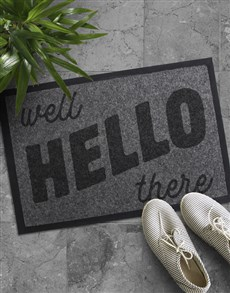 gifts: Well Hello There Doormat!