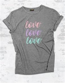 gifts: Triple Love Ladies T Shirt!