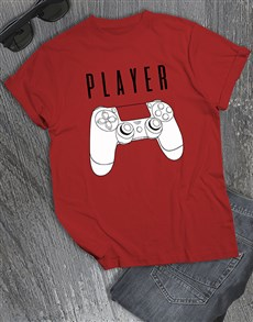 gifts: Player T Shirt!