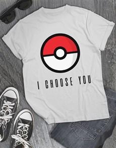 gifts: I Choose You T Shirt!