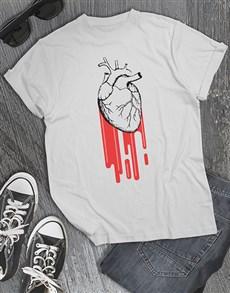 gifts: Heart Burst T Shirt!