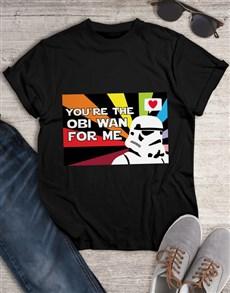 gifts: Obi Wan Love Colour T Shirt!