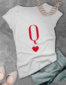 gifts: Queen of Hearts T Shirt!