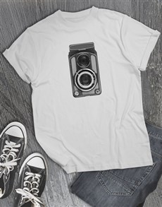 gifts: Vintage Camera T Shirt!