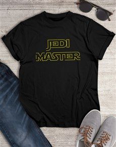 gifts: Jedi Master T Shirt!