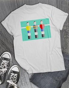 gifts: Foosball T Shirt!