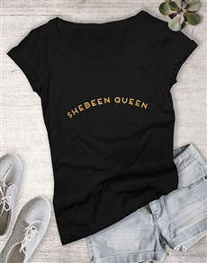 gifts: Shebeen Queen Glitter Ladies T Shirt !
