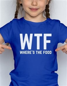 gifts: WTF Kids T Shirt!