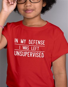 gifts: Supervision Kids T Shirt!