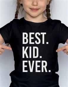 gifts: Best Ever Kids T Shirt!