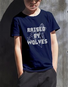 gifts: Raised By Wolves Kids T Shirt!