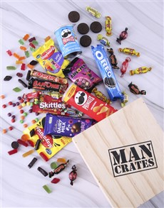 gifts: Sweet Sensations Man Crate!
