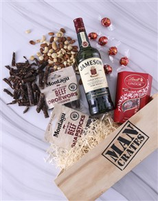 gifts: Lindt Select Man Crate!