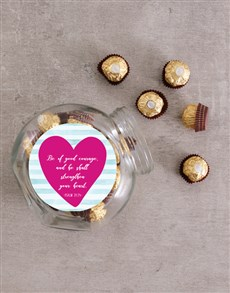gifts: Psalm of Courage Candy Jar!