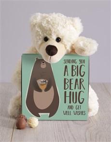 gifts: Get Well Bear Hug Teddy Hamper!