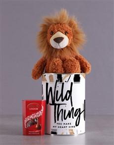 gifts: Wild Lion Tin Hamper!