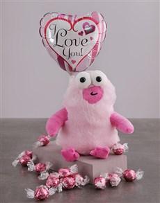 gifts: Love You Monster Teddy Hamper!