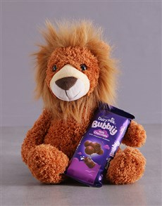 gifts: Lion And Bubbly Hamper!