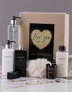 gifts: Charlotte Rhys Valentines Bath And Body Hamper!