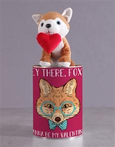 gifts: Hey Foxy Tin Hamper!