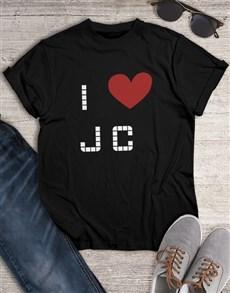 gifts: I Heart JC Shirt!