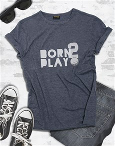 gifts: Born To Play Golfer Shirt!