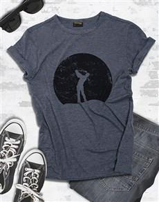 gifts: Grey Golfer Shirt!