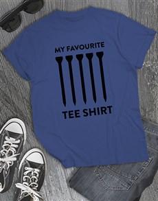 gifts: Golfer Tee Shirt!