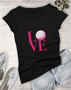 gifts: Love Golf Ladies Shirt!