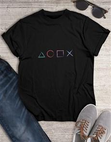 gifts: Playstation Pride Tshirt!