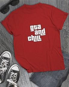 gifts: GTA and Chill Gaming Tshirt!
