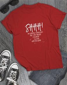 gifts: Shhh Gaming Tshirt!