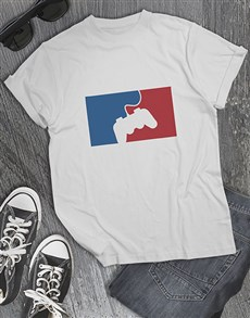 gifts: Red and Blue Game Controller Tshirt!