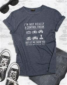 gifts: Control Freak Gaming Tshirt!