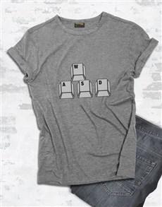 gifts: WASD Gaming Tshirt!