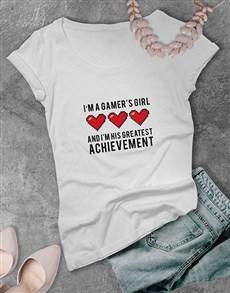 gifts: Gamers Greatest Achievement Tshirt!