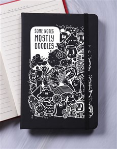 gifts: Doodles A5 Notebook!