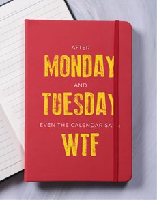 gifts: WTF A5 Notebook!