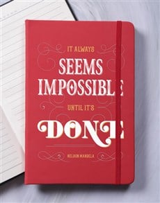 gifts: Nothing is Impossible A5 Notebook!