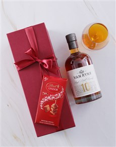 gifts: Red Box of Van Ryns 10 Year!