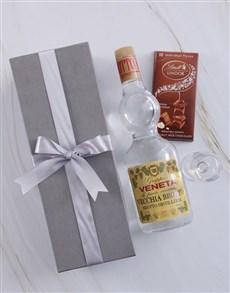 gifts: Silver Box of Grappa Veneta!